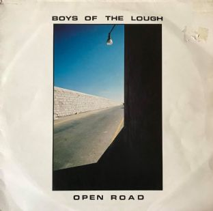 Boys Of The Lough ‎- Open Road (LP) (G+/G+)